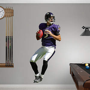 Joe Flacco Fathead Wall Decal